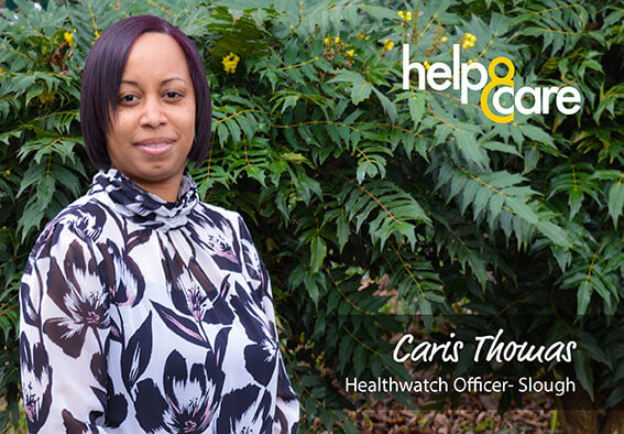 Caris Thomas - Healthwatch Officer - Slough