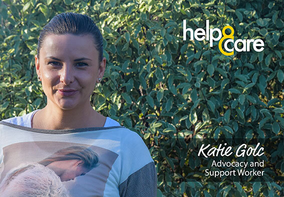 Katie Golc - Advocacy and Support Worker