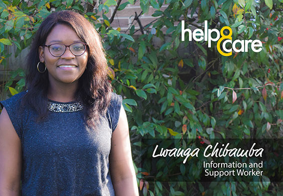 Lwanga Chibamba - Information and Support Worker