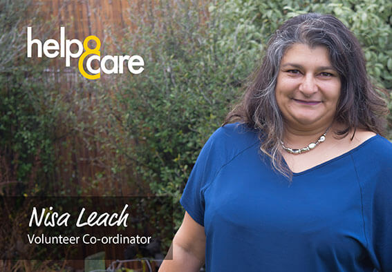 Nisa Leach - Volunteer Co-ordinator